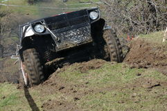 Offroad competition Stock Image