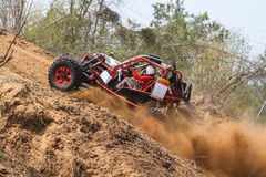 Offroad competition. Participants in offroad competition at thailand Royalty Free Stock Photo