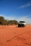 Offroad in Desert - The Red Centre, Australia Royalty Free Stock Photography