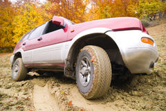 Offroad driving Royalty Free Stock Images