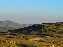 Offroad em montanhas de Bucegi Foto de Stock Royalty Free