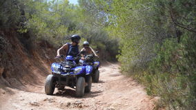 Offroad with friends royalty free stock photography