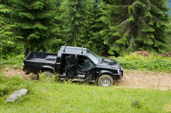 Offroad jeep Royalty Free Stock Images