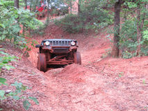 Offroad Jeep Stock Photography