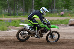 Offroad. KAWASAKI KX450F offroad motocross SM in sweden Stock Photo