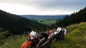 Offroad KTM Royaltyfri Fotografi