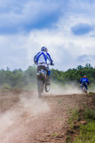 Offroad motorcycle Royalty Free Stock Photos