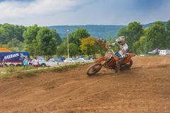 Offroad motorcycle Stock Image