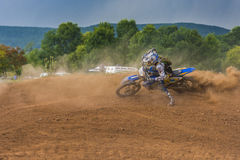 Offroad motorcycle Stock Photo
