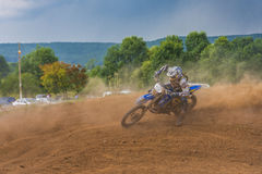 Offroad motorcycle Stock Photos