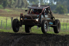 Offroad mud 03. Off Road racer go through their paces during a very muddy race Royalty Free Stock Images