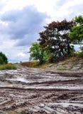Offroad, natural dirt terrain Stock Photo