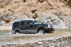 Offroad in Oman Royalty-vrije Stock Foto