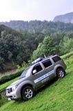 Offroad polisbil Fotografering för Bildbyråer