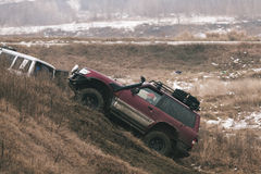 Offroad race Royalty Free Stock Image