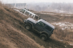 Offroad race Royalty Free Stock Photos