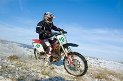 Offroad Rider Stock Images