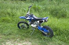 Offroad small teenage motorbike Stock Photo