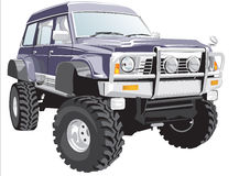 Offroad vehicle Stock Images