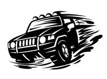 Offroad vehicle Royalty Free Stock Photo