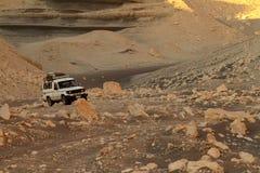 Offroad w pustyni Sahara Obraz Royalty Free