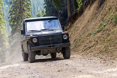 Offroad 4x4 vehicle Stock Photography