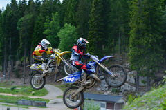 Offroad. Yamaha yzf 450 offroad motocross SM in sweden Royalty Free Stock Photo