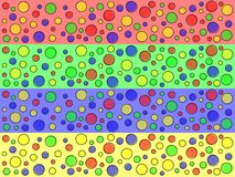 Offset Dots Web Banners Royalty Free Stock Images