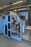 Offset/flexo press for labels Royalty Free Stock Image