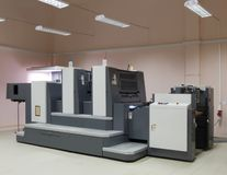Offset machine Stock Images