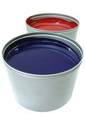 Offset paint can 2 Stock Images