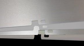 Offset plates. Plates for offset printing machine Stock Photo