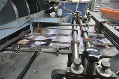 Offset press plant house machine Royalty Free Stock Image