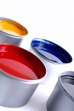 Offset printing ink Royalty Free Stock Photo