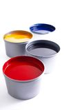 Offset printing ink Royalty Free Stock Image