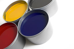 Offset Printing Ink Royalty Free Stock Images