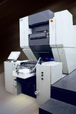 Offset Printing Machine. Path included stock photography
