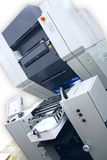 Offset Printing Machine. Clipping path included Stock Images