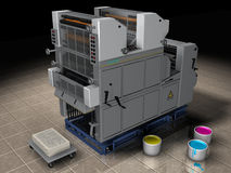 Offset Printing Press Stock Photos