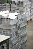 Offset printing process Stock Image