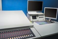 Offsetdruck-Maschine lizenzfreies stockbild