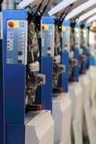 Offsetdruck-Maschine Lizenzfreie Stockfotografie