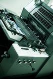 Offsetdrucken-Maschine Stockbild