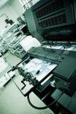 Offsetdrucken-Maschine Stockfotografie