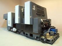 Offsetmaschine Stockfoto