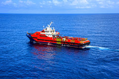 Offshore cargo Industry oil and gas Royalty Free Stock Photos