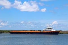 Offshore-Crewboat lizenzfreie stockfotografie
