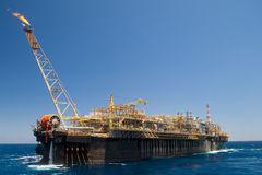 Offshore FPSO oil rig Stock Photos