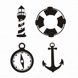 Offshore Icons Stock Photo
