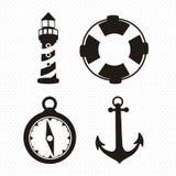 Offshore Icons Stock Photo